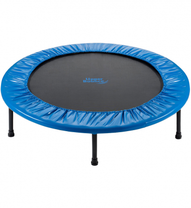 Upper Bounce - Mini 2 Fold Rebounder Trampoline with Carry-on Bag Included