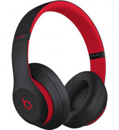 Beats by Dr Dre - Beats Studio³ Wireless Headphones - The Beats Decade Collection - Defiant Black-Red