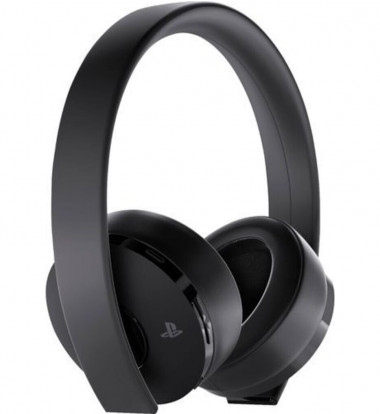 Sony - Gold Wireless Stereo Headset for Playstation