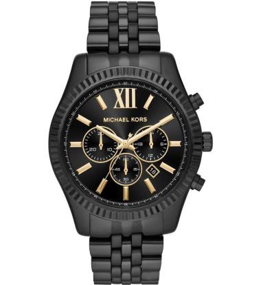 Michael Kors - Ladies Lexington Stainless Steel Chronograph Watch