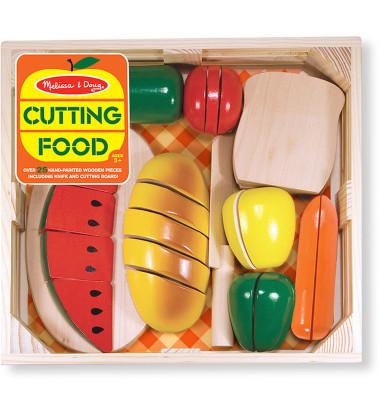 Melissa & Doug - Cutting Food-Wooden Play Food