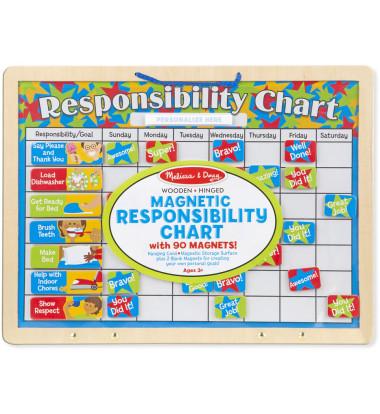 Melissa & Doug - Magnetic Responsibility Chart