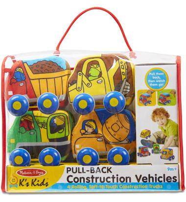 Melissa & Doug - Pull Back Construction Vehicles