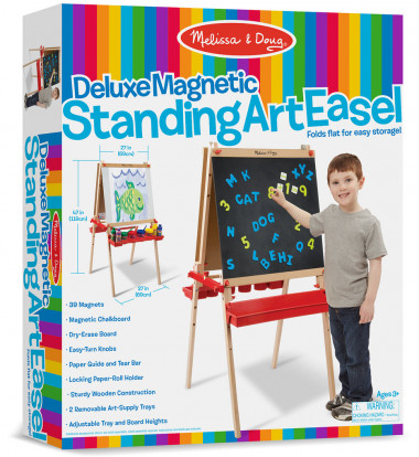 Melissa & Doug - Deluxe Easel / Magnetic Boards