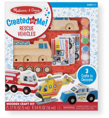 Melissa & Doug - Rescue Vehicles Set
