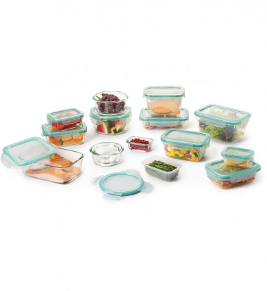 OXO - Good Grips 30pc SNAP Glass & Plastic Container Set