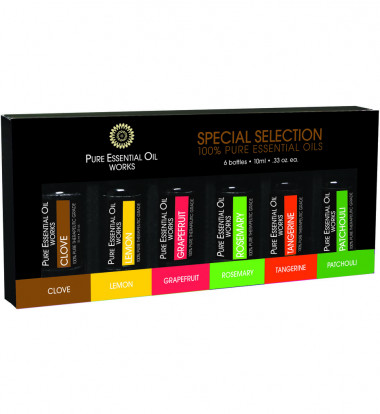 Pure Essential Oil Works - Special Selection Essential Oils Set