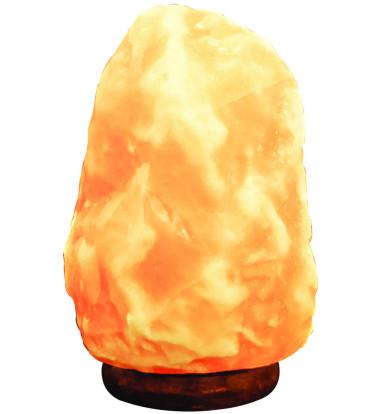 """Pure Himalayan Salt Works - 8"""" Natural Air Purifying Himalayan Salt Lamp"""