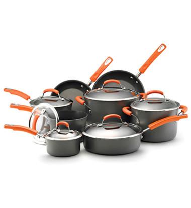 Rachael Ray - 14 Pc. Hard Anodized II Cookware Set