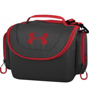 Under Armour - 12 Can Insulated Cooler Black/Red
