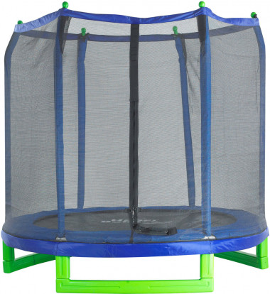 "Upper Bounce - 7' Indoor/Outdoor  ""Classic"" Trampoline & Enclosure Set"